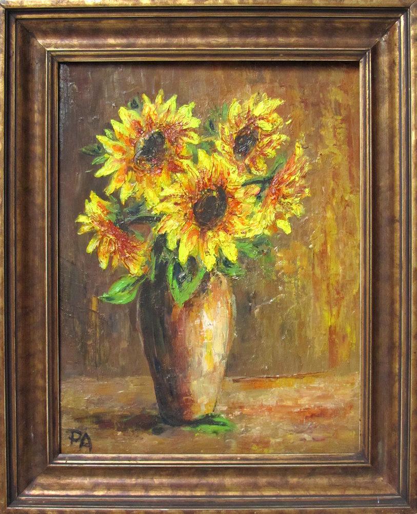 Blumen Stilleben Öl